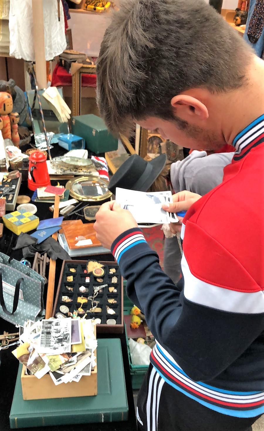 Ingla Enrichment Trip Spitalfields Market 8