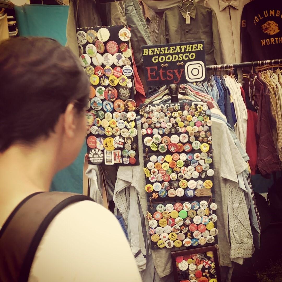Ingla Enrichment Trip Spitalfields Market 10