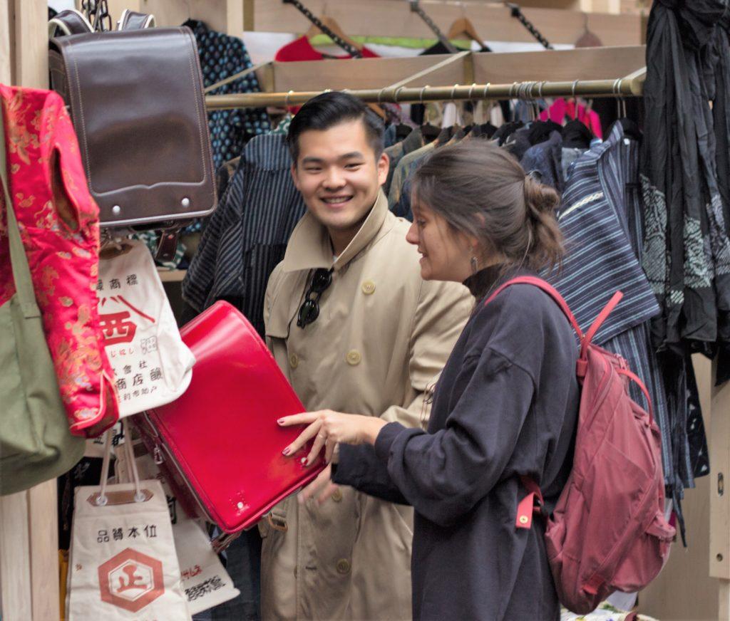 Ingla Enrichment Trip Spitalfields Market 2