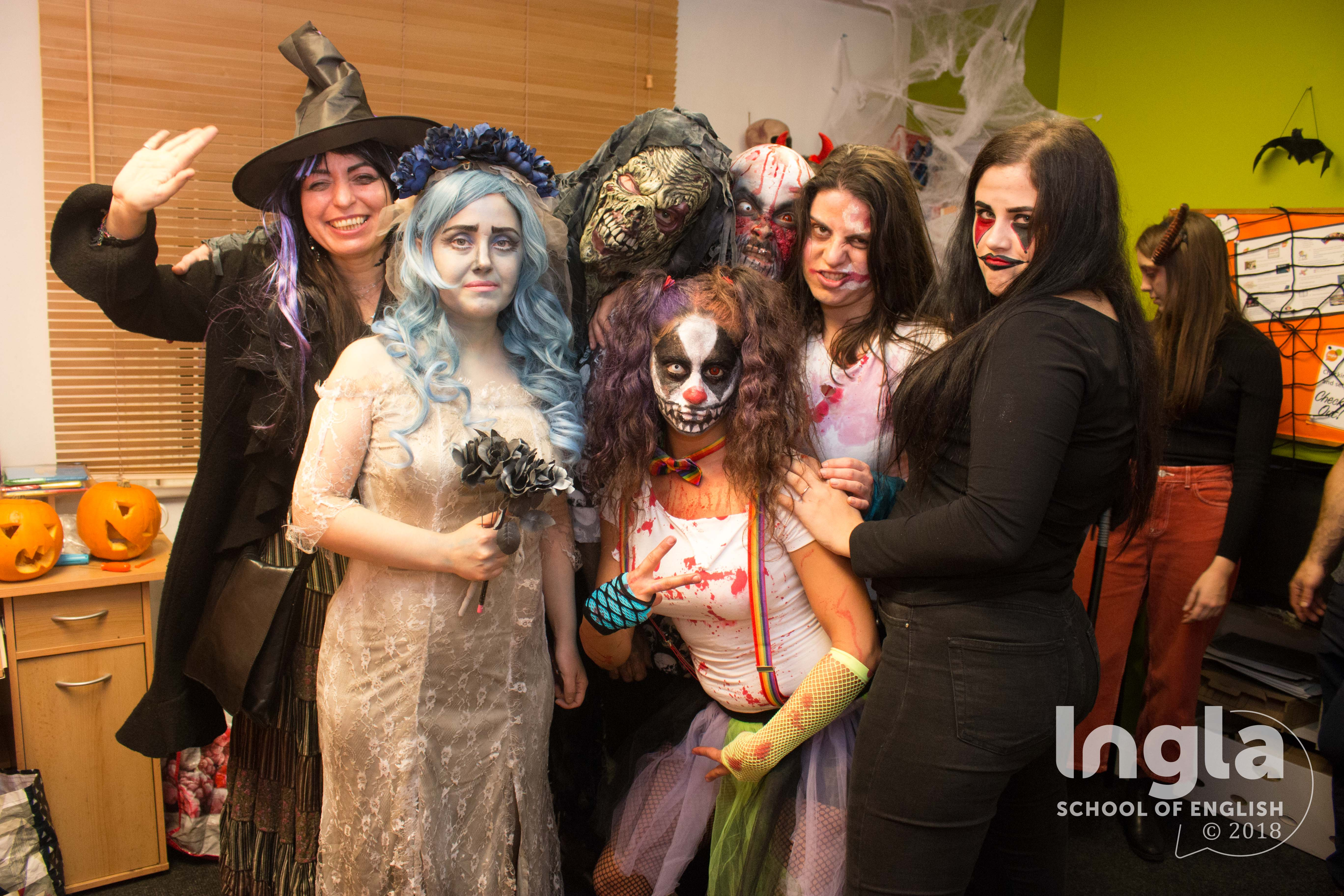 INGLA HALLOWEEN PARTY
