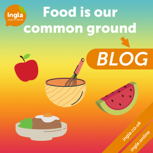 Blog Food is our Common Ground