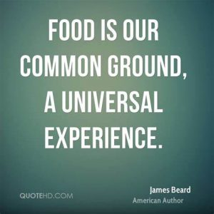 food is our common ground quote blog