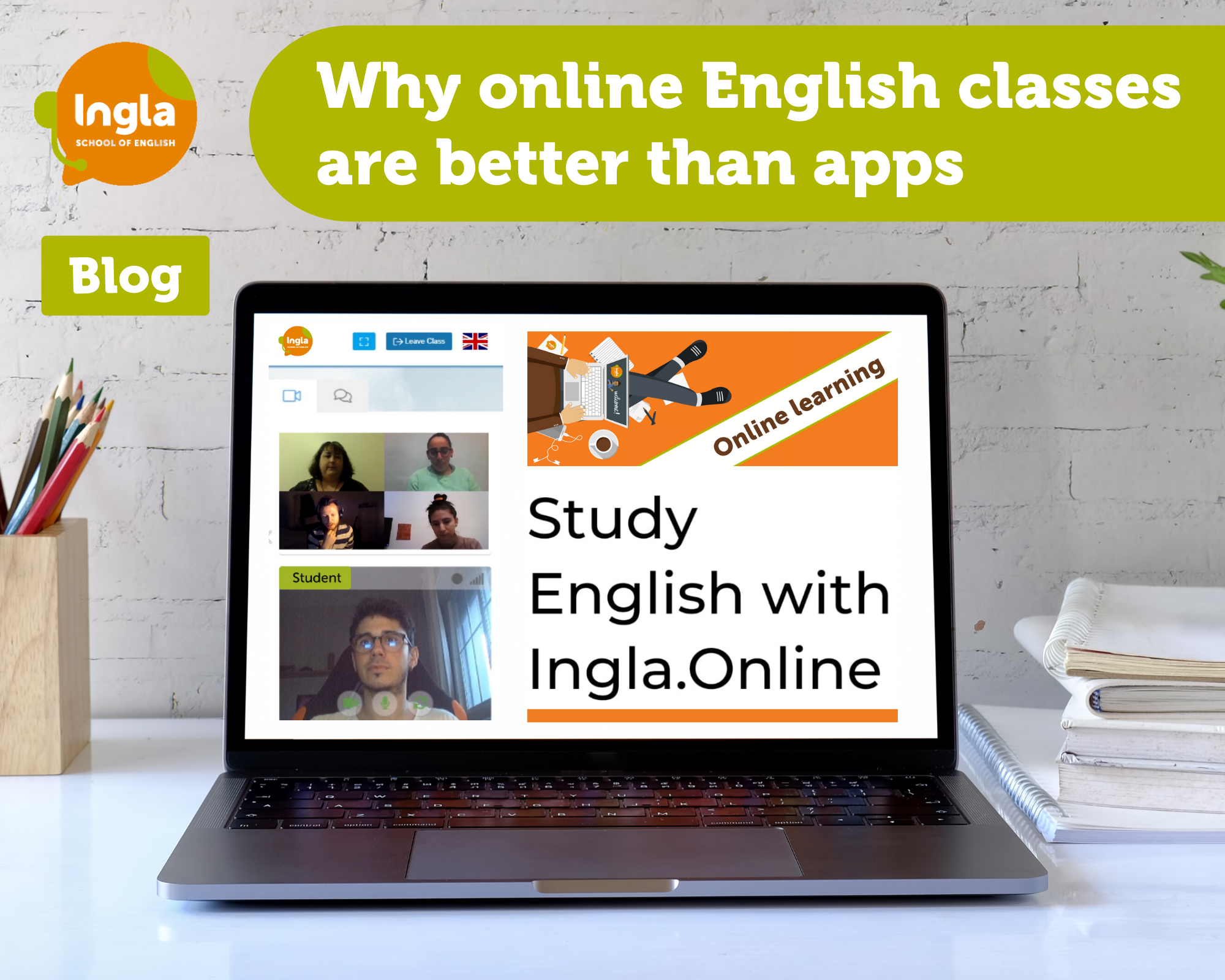 "'Why Online English Classes are Better Than Apps""'"