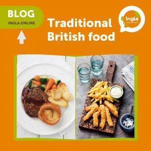 Traditional British food blog