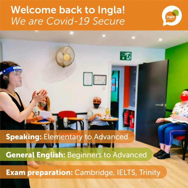 Ingla Covid-secure class