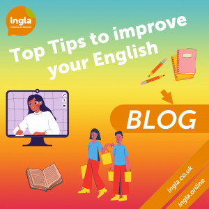 Top tips to improve your english blog
