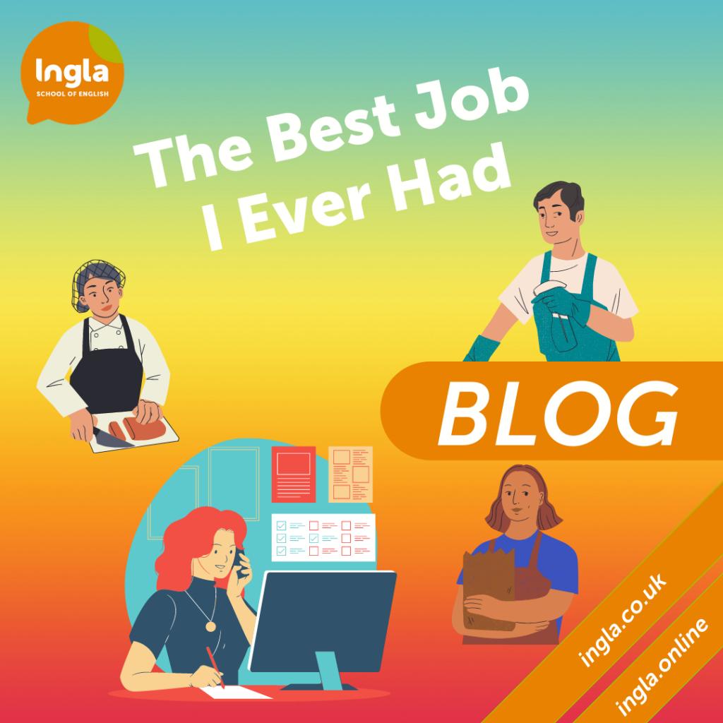 The Best Job I Ever Had blog