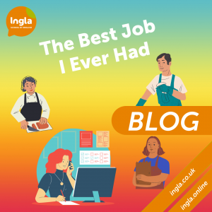 The Best Job I Ever Had blog