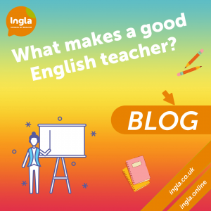 What makes a good English teacher blog