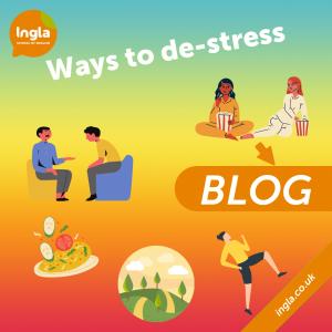 Ways to de-stress blog