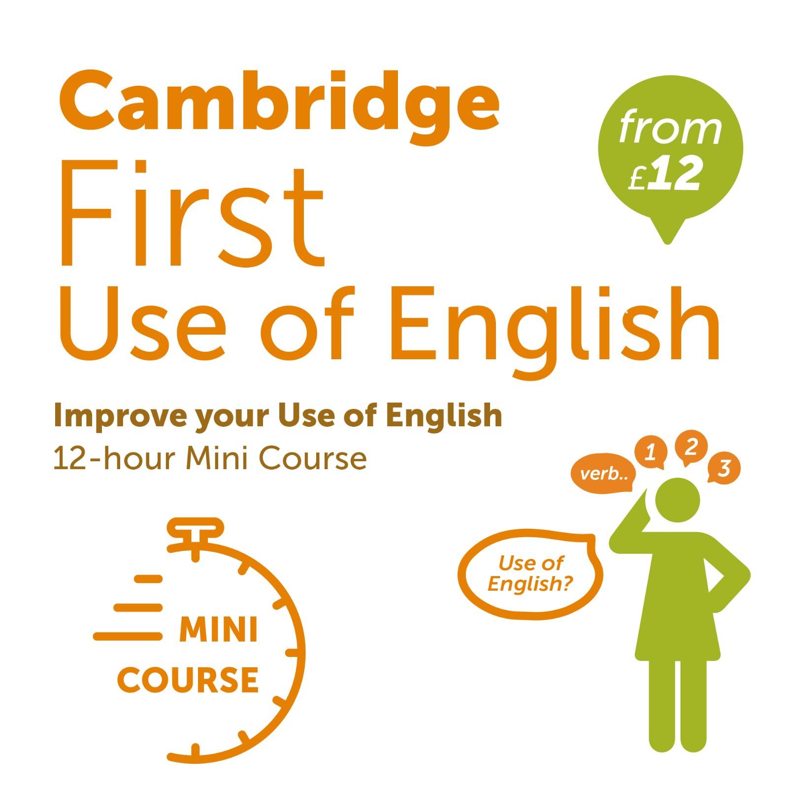 Cambridge Use of English Mini Course
