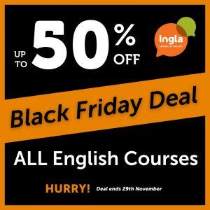 Black Friday Offer at Ingla