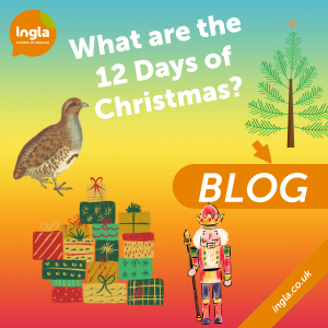 12 days of Christmas blog