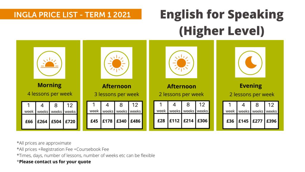 Ingla Price List - term 1 2021 Sp (H)