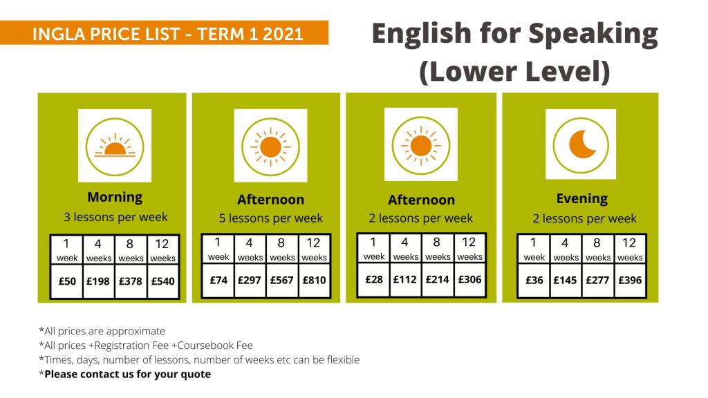 Ingla Price List - term 1 2021 Sp (L)