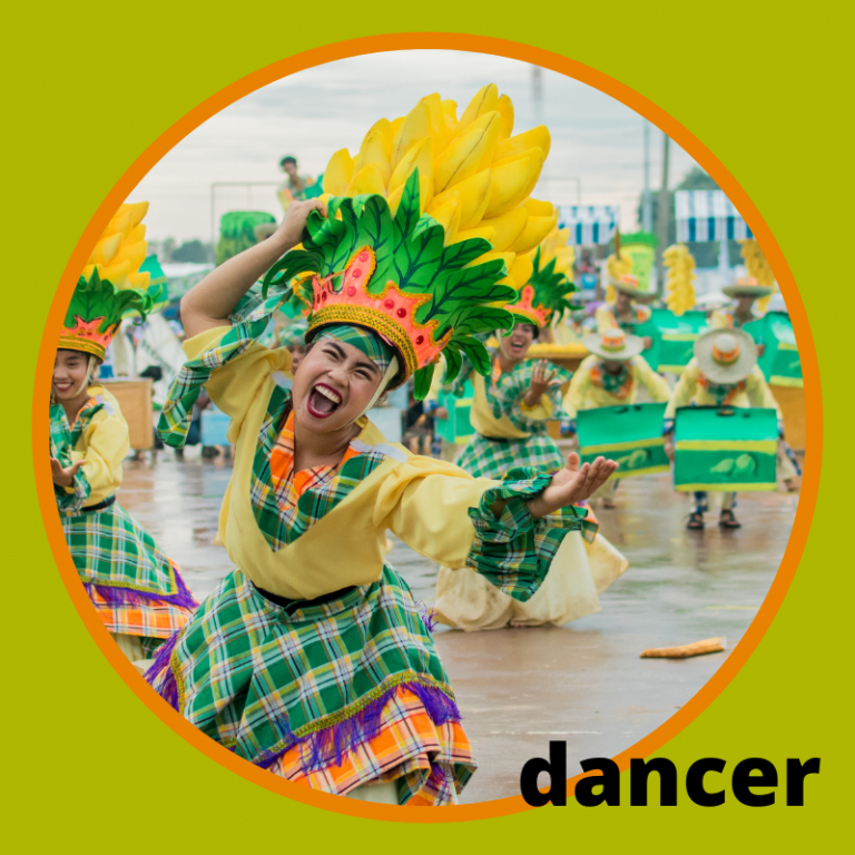 Carnival Vocabulary Words DANCER