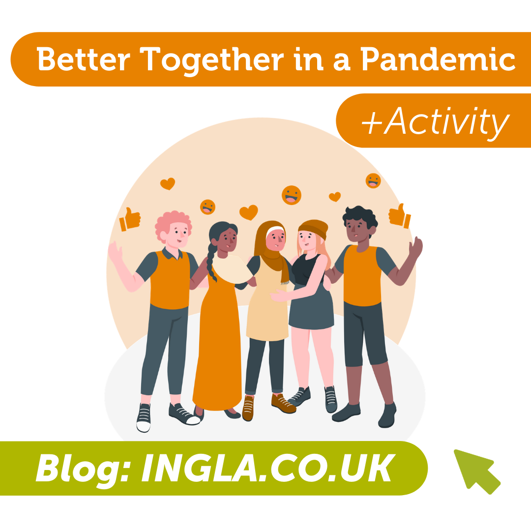 Better Together in a Pandemic – St Valentine's Day 2021