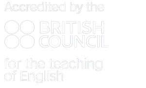Acredited by British Council for the teaching of English