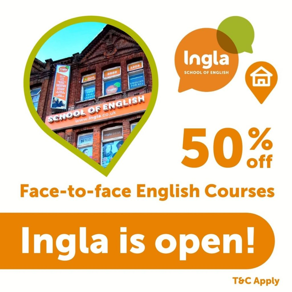 face-to-face English course london