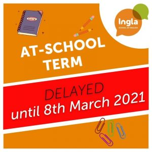 New Term At school delayed until 8th march