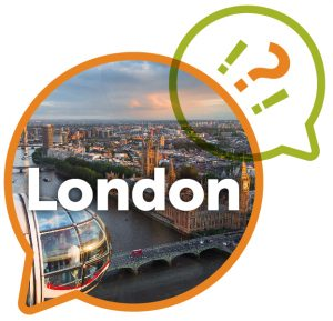 WHY Learn in LONDON logo
