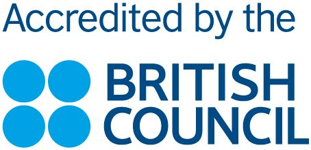 Accredited by the British council - Ingla School of Enlgish