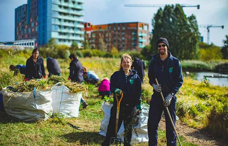 the conservation volunteers image volunteer in London