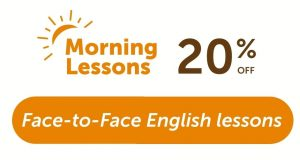 Morning lessons 20% off discount-offer