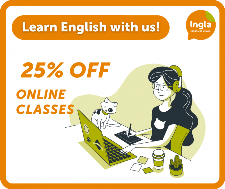 25% off online English courses 001