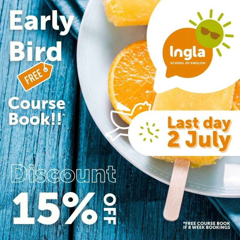 Reminder - Early bird 15 off