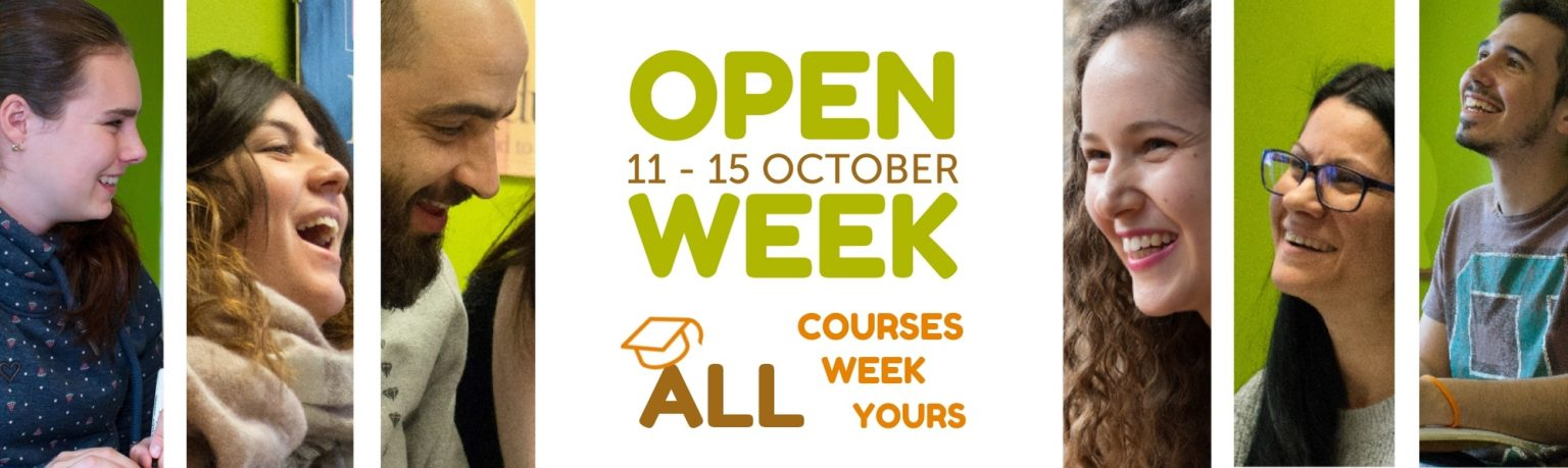 banner open week